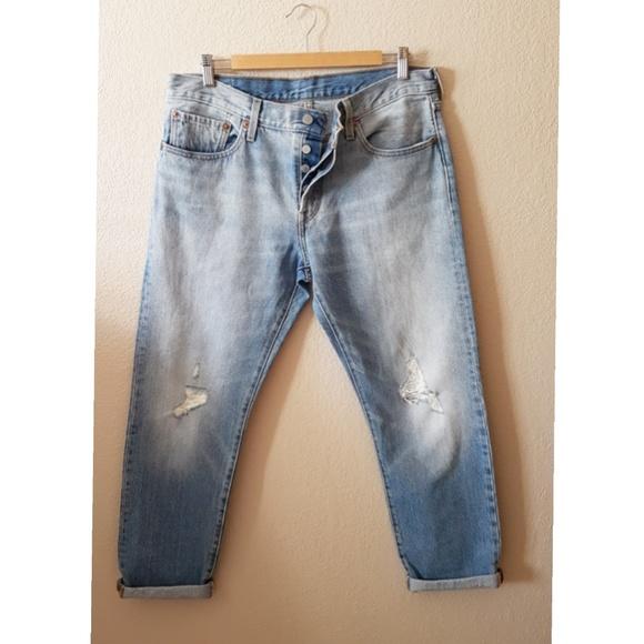 cfb0c2c0 Levi's Jeans   New Womens Levis 501 Ct Button Fly Boyfriend   Poshmark